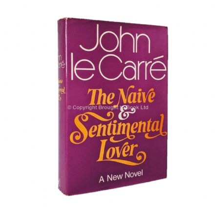 The Naive and Sentimental Lover Signed by John le Carré 1st Edition Hodder & Stoughton 1971
